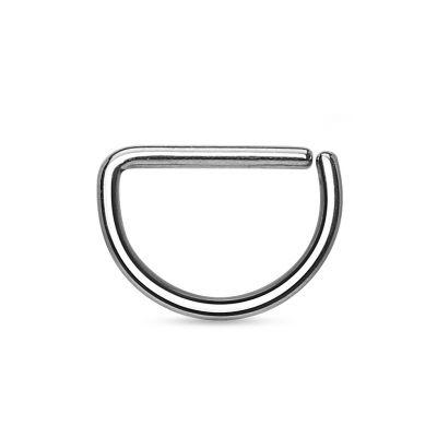Eenvoudige d-vormige ring