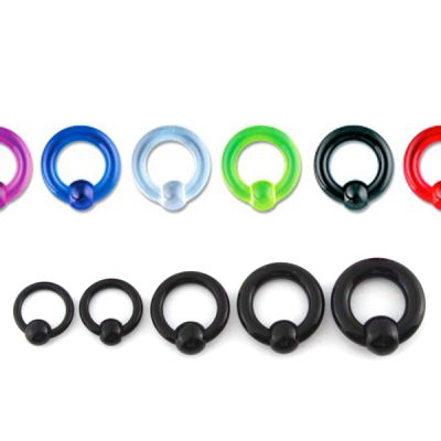Ball closure ring uit acryl