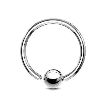 Ring met een vast balletje