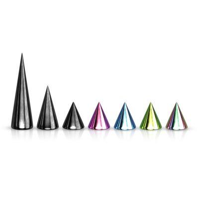 Losse spikes in verschillende kleuren en afmetingen