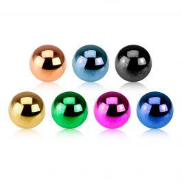 Piercingballetje in vele kleuren