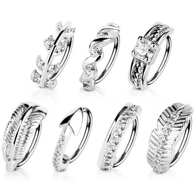 Ring met verschillende ontwerpen en kleuren