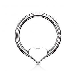 Ring met een los hart